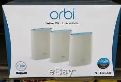 NETGEAR Orbi AC3000 Tri-band Wi-Fi System # RBK53S