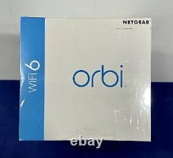 NETGEAR Orbi AX4200 Tri-Band Mesh Wi-Fi 6 System (2-pack) White RBK752-100