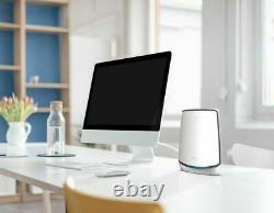 NETGEAR Orbi AX6000 Tri-Band Mesh WiFi 6 System (3-pack) White RBK853 New Sealed
