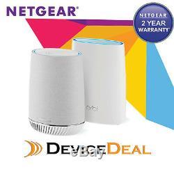 NETGEAR Orbi Mesh WiFi System with Orbi Voice Smart Speaker (RBK50V)