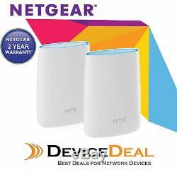 NETGEAR Orbi RBK50 AC3000 Tri-band WiFi Router System Australia Warranty