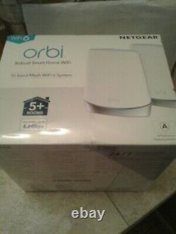 NETGEAR Orbi RBK752 Tri-Band Mesh Wi-Fi 6 System (Set of 2)