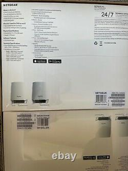 NETGEAR Orbi RBK753 Wi-Fi System (router, 2 Extenders) Up To 7,500 Sq. Ft New