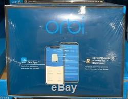 NETGEAR Orbi RBK753S Whole Home Mesh WiFi 6 AX4200 with Advanced Cyber Security