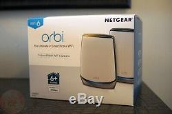 NETGEAR Orbi RBK852 AX6000 Tri-Band Mesh Wi-Fi 6 System (ROUTER ONLY)