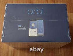 NETGEAR Orbi RBK853 Tri-band Mesh WiFi 6 System AX6000 Internet RBR850 RBS850