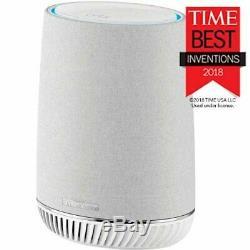 NETGEAR Orbi Voice Whole Home Mesh WiFi Satellite Extender with Amazon