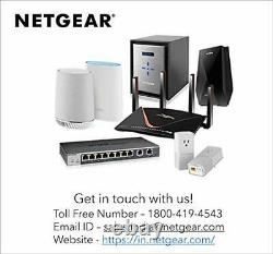 NETGEAR Orbi Whole Home Tri-Band Mesh WiFi 6 System (RBK753) Router with 2