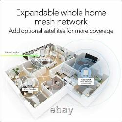NETGEAR Orbi WiFi 6 Mesh System AX6000 RBK852 1 Router with 2 Satellite Extender