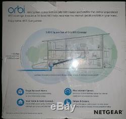 NETGEAR Orbi WiFi System RBK50 Wi-Fi system 802.11a/b/g/n/ac desktop