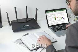 NETGEAR R9000 Nighthawk X10 Tri-Band AD7200(7.2 Gbps) Smart Wi-Fi Router