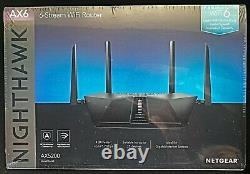 NETGEAR RAX48 Nighthawk AX5200 Dual-Band Wi-Fi Router BRAND NEW FREE SHIPPING