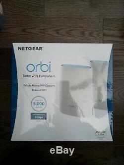 NETGEAR RBK50 & RBS50 Orbi AC3000 Tri-band WiFi Router Verizon RBK50-1VZNAS