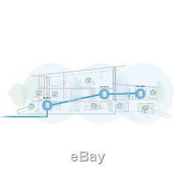 NETGEAR RBK53 Orbi AC3000 Whole Home Mesh Tri-band WiFi Router (7,500 sq ft) 3PK