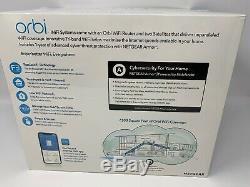 NETGEAR RBK53S 100NAS Orbi AC3000 Tri-band WiFi System 1 RBR50 V2, 2 RBS50