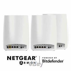 NETGEAR RBK53S 100NAS Orbi AC3000 Tri-band WiFi System 3 Units