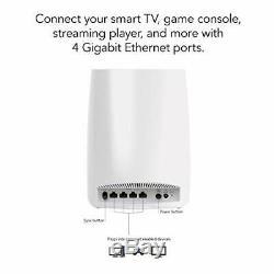 NETGEAR RBS50 Orbi Whole Home Mesh Wi-Fi Satellite, Tri-Band AC3000 (3.0 Gbps)