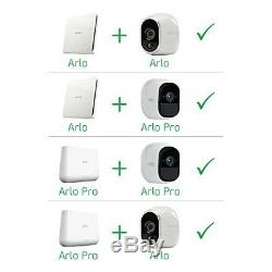 NETGEAR VMS3330 Arlo Smart Home 3 HD Security Camera Kit, 100 Percent Wire-Free