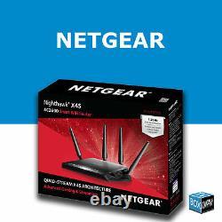 NETGEAR X4S R7800 1.7GHz DDWRT FAST VPN WIRELESS ROUTER OPENVPN PLUG & PLAY