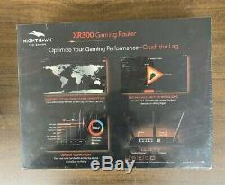 NETGEAR XR300-100NAS Nighthawk Pro Gaming WiFi Router New In Box Free Shipping