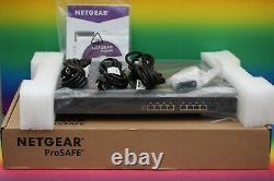 # NEU # NETGEAR XS708E 8x 10 Gigabit Port Switch Version 2 ProSafe Ethernet Plus