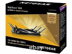 NEW NETGEAR Nighthawk X6S AC4000 Tri-Band WiFi Router R8000P-100NAS