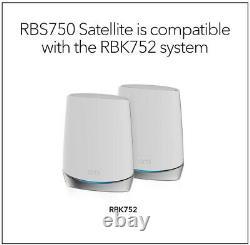 NEW NETGEAR Orbi Whole Home Tri-band Mesh WiFi 6 Add-on Satellite (RBS750)