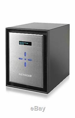 NEW NETGEAR RN626X00-100NES ReadyNAS RN626X SAN/NAS 8GB Diskless RN626X00 Xeon
