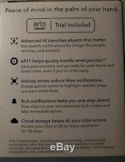 NEW Netgear Arlo Pro 3 2K QHD Camera Add-on with Spotlight & Night Vision VMC4040P