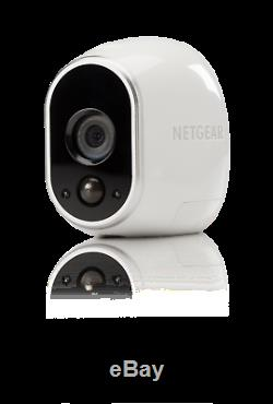 NEW Netgear Arlo Wire-Free Smart Security System with 2 Cameras Indoor/Outdoor