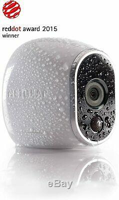 NEW Netgear Arlo Wire-Free Smart Security System with 4 HD Cameras Indoor/Outdoor