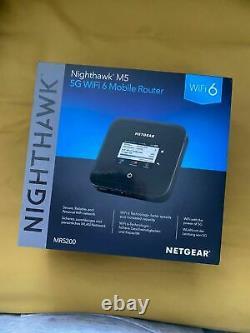 NEW Netgear MR5200 nighthawk 5g