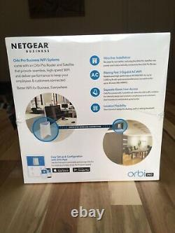 NEW Netgear Orbi Pro Mesh System Tri-Band. ROUTER + SATELLITE. Wi-Fi Extender