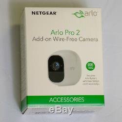 NetGear Arlo Pro 2 VMC4030P-100EUS Add-on Wire-Free Camera 1080p NEW