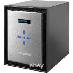 Netgear 6 Bays With Intel Xeon Quad-core Server Processor Intel Xeon D-1521