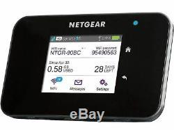 Netgear AC810-100EUS AirCard Mobile Hotspot 4G LTE bis zu 600 Mbit/s 2 x TS-9