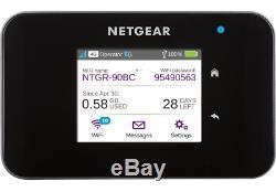 Netgear AirCard AC810S Mobile Hotspot 3G/4G LTE, WLAN, bis 15 Geräte, 600 MBit/s
