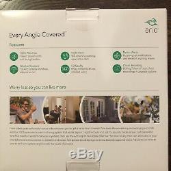 Netgear Arlo 3 Wire Free Hd Security Cameras Indoor/Outdoor/Night Vision New