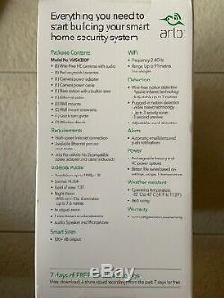 Netgear Arlo Pro 2, 3x CAMERA SYSTEM VMS4330P BRAND NEW FACTORY SEALED