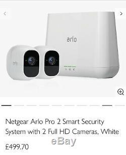 Netgear Arlo Pro 2 Cameras Brand New (inc Netgear Brackets And Covers)