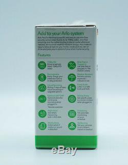 Netgear Arlo Pro 2 (Smart Home 1080p Überwachungskamera Erweiterung weiß) NEU