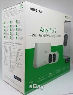 Netgear Arlo Pro 2 VMS4230P 2-HD-Kamerasicherheitssystem VMS4230P-100EUS Neu OVP