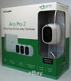 Netgear Arlo Pro 2 VMS4330P 3-HD-Kamerasicherheitssystem VMS4330P-100EUS Neu OVP