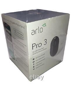 Netgear Arlo Pro 3 Smart Security System Wireless 2K Camera Indoor/Outdoor NEW