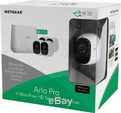Netgear Arlo Pro 4 Wire-Free Smart HD Security Camera VMS4430- New In Box