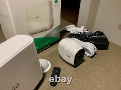 Netgear Arlo Pro Base Station VMB4000 and Arlo Pro camera, memory stick (used)