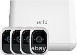 Netgear Arlo Pro Smart VMS4430 Sicherheitssystem inkl 4 Kameras weiß NEU