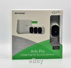 Netgear Arlo Pro VMS4330-100EUS Smart Home 3 HD Kamera-Sicherheitssystem NEU OVP