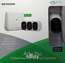 Netgear Arlo Pro VMS4330 3-HD-Kamera-Sicherheitssystem VMS4330-100EUS -Neu & OVP