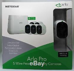 Netgear Arlo Pro VMS4530 5-HD-Kamera-Sicherheitssystem VMS4530-100EUS Neu & OVP